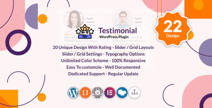 Testimonials slider grid wordpress testimonials plugin wordpress
