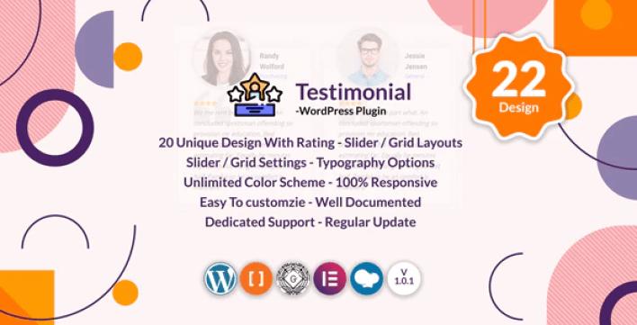 Testimonials slider grid wordpress testimonials plugin wordpress