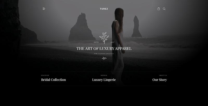 Turez theme wordpress premium woocommerce boutique en ligne
