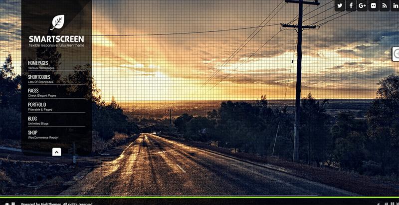 Smart screen themes wordpress creer site web photographe studio photo