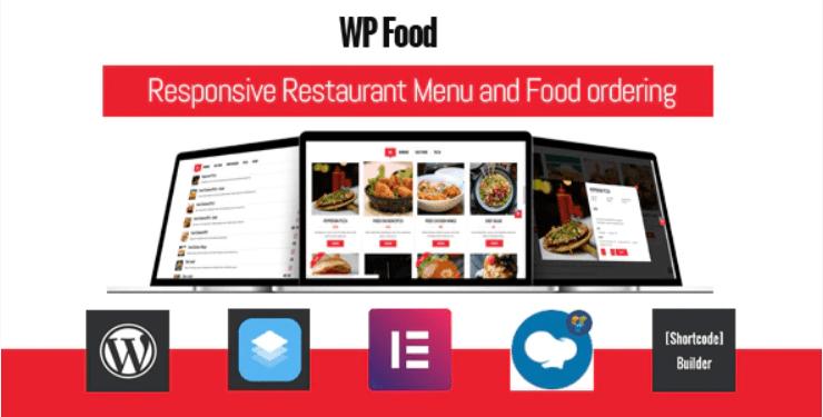 meileurs plugins WordPress pour créer un site web de restaurant Wp food