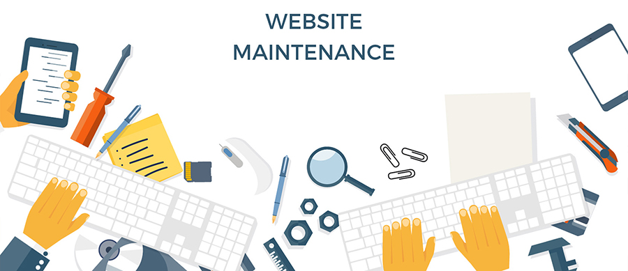 Serviços revisados de manutenção de sites