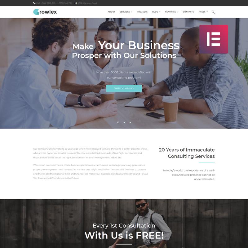 Glowlex WordPress Theme