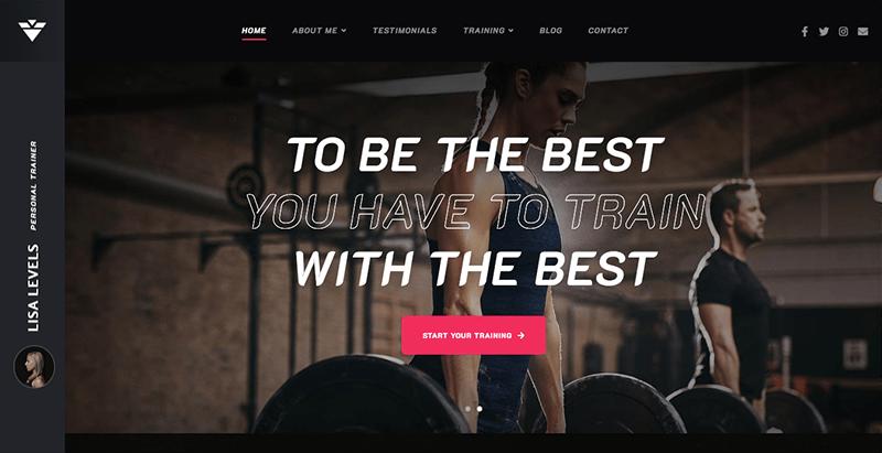 Solestep theme wordpress creer site web coach tutor club fitness gym