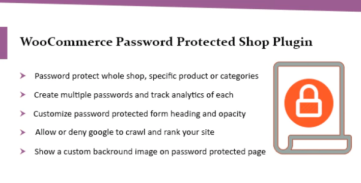 Woocommerce password protected categories products shop plugin wordpress