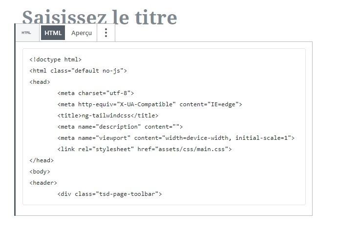 Block html gutenberg divi