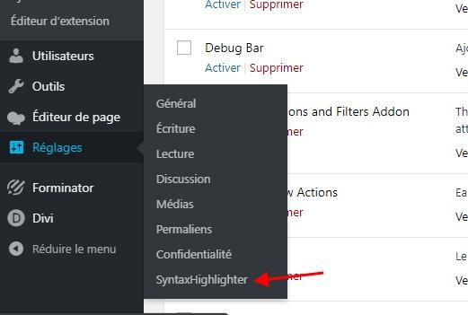Syntax highlighter plugin wordpress