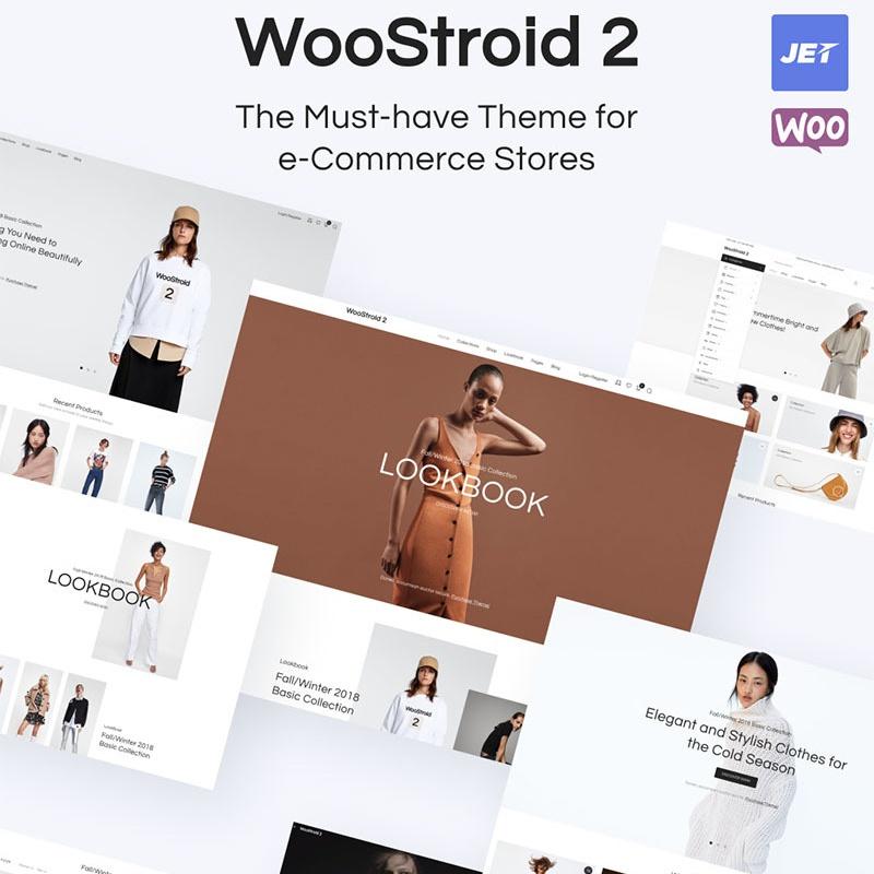 Woostroid thème WooCommerce adaptatif