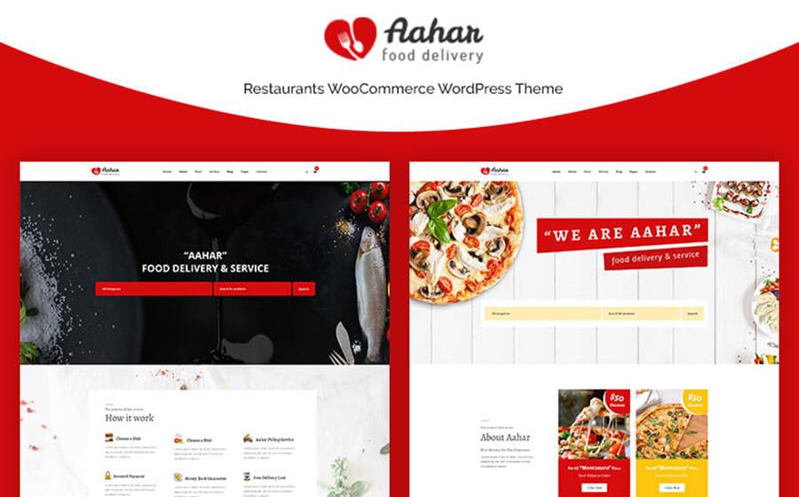 Aahar - Адаптивные тематические рестораны WooCommerce