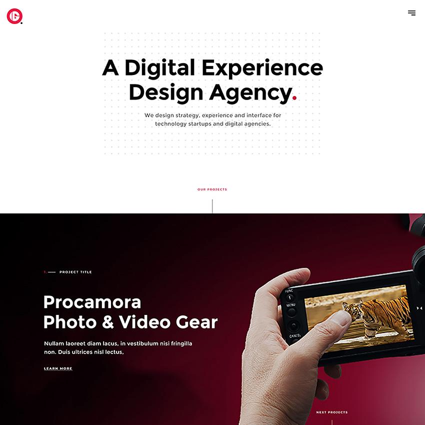 Innota Agency - modèle PSD
