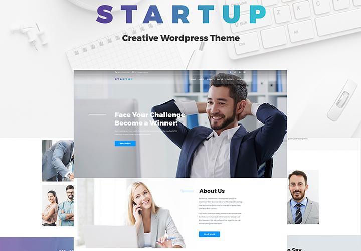 Tema - Thème WordPress pour entreprises et services