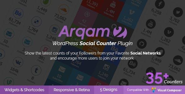 meilleurs plugins WordPress de partage social - Arquam