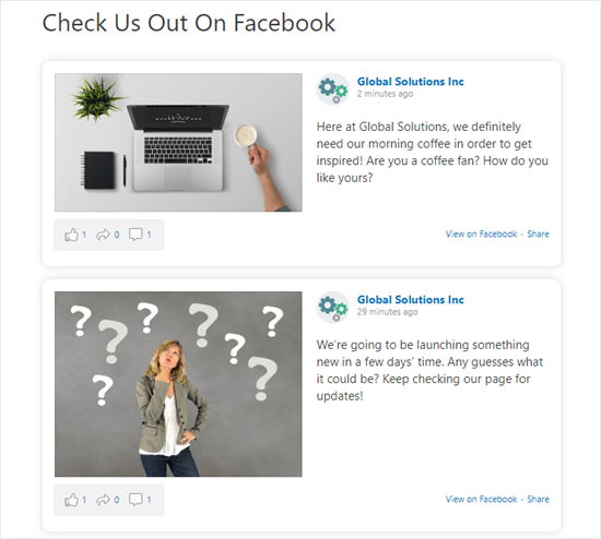 Comment afficher timeline facebook wordpress blogpascher6