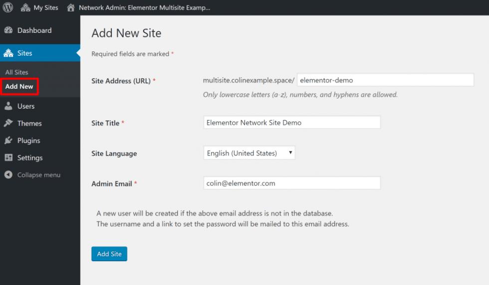Comment configurer reseau multisite wordpress nouveau site web blogpascher