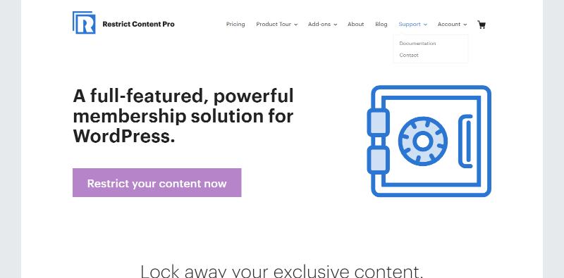 Meilleurs plugins wordpress authorize net blogpascher restrict content pro
