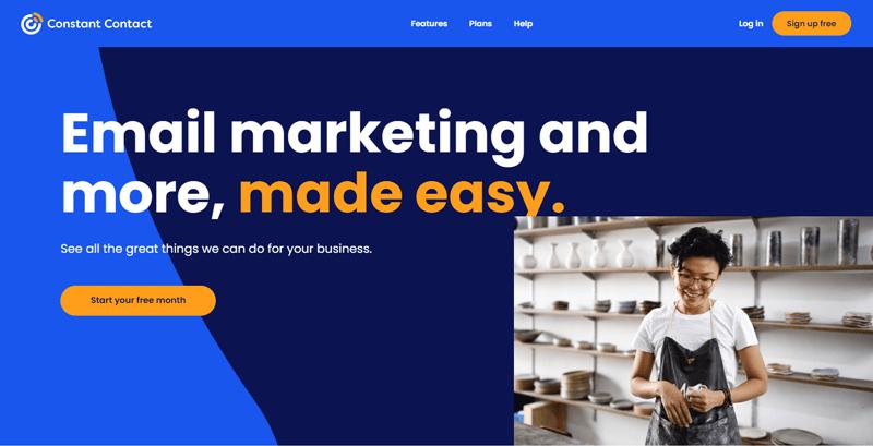 Outils automatisation marketing petites entreprises constant contact blogpascher