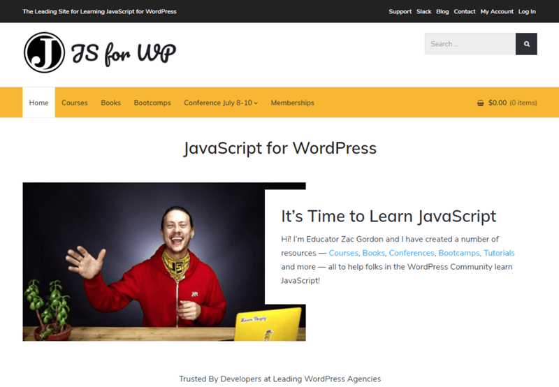 Ressources utiles developpeurs javascript for wordpress blogpascher