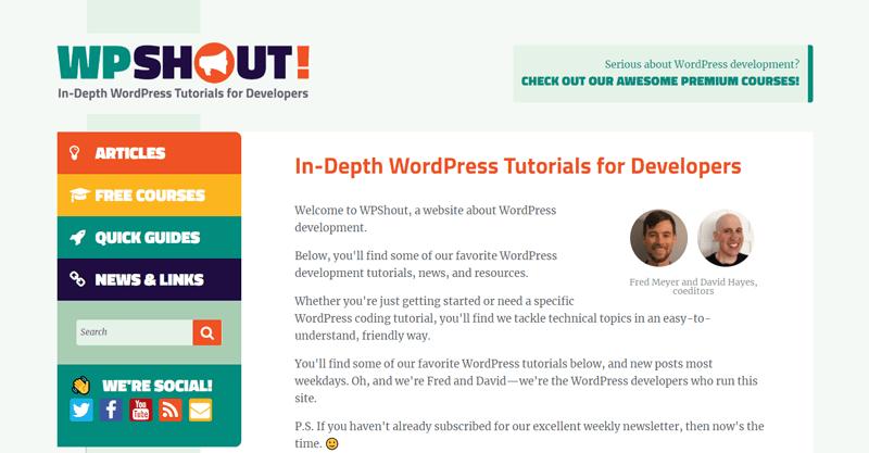 Ressources utiles developpeurs wpshout blogpascher