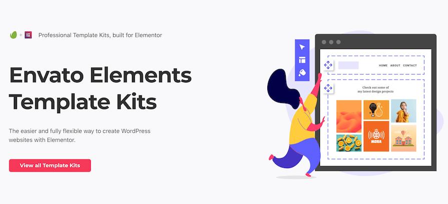 Envato elements elementor kits