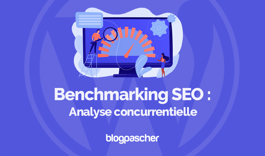 Benchmarking de análise competitiva de SEO Wordpress