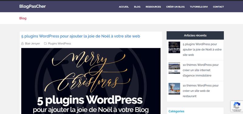 Blogpascher site web vs blog 1
