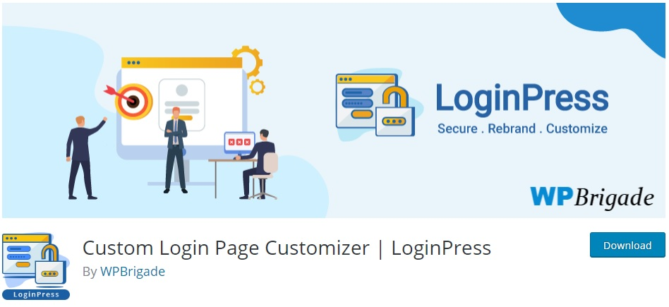 plugin wordpress gratuit loginpress