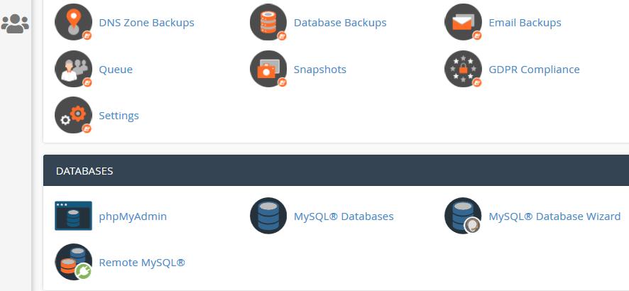 comment exporter la base de données WordPress dans le cPanel