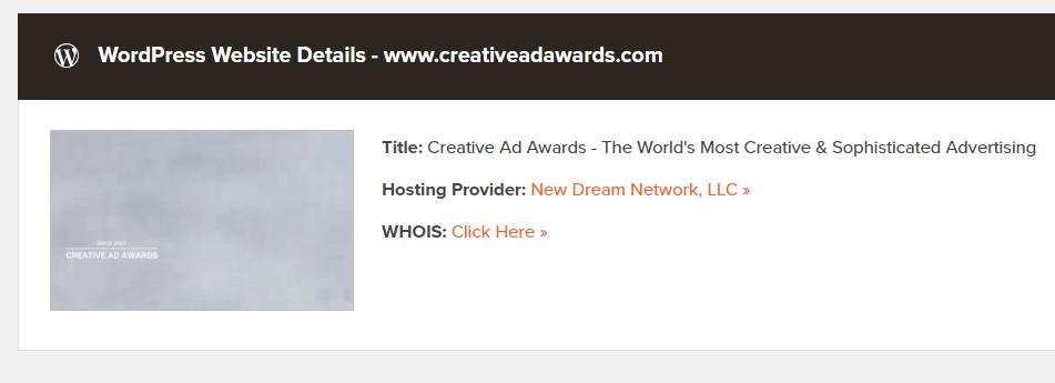 outils de detection de thème WordPress