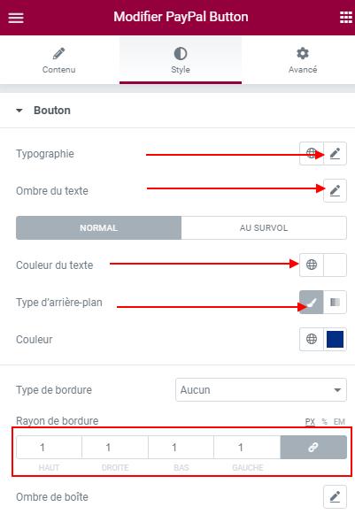 Comment ajouter un bouton PayPal dans Elementor