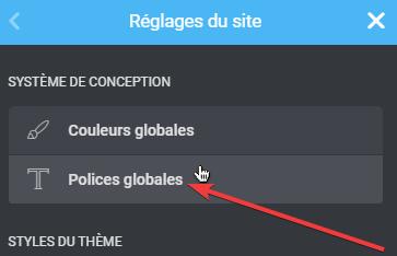 Comment utiliser les polices globales dans Elementor