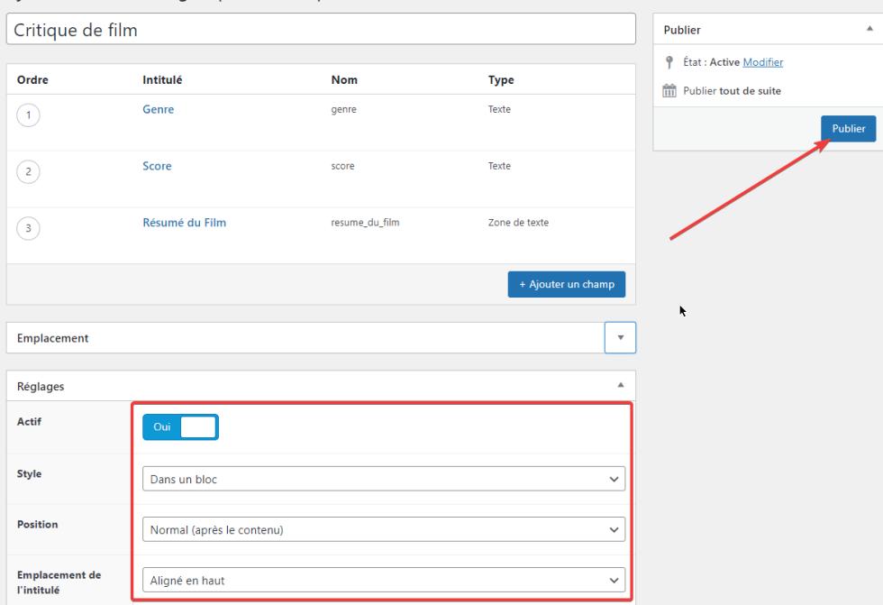 Comment ajouter des champs personnalisés dans Elementor