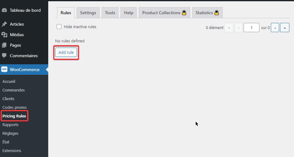 Comment configurer la tarification dynamique WooCommerce