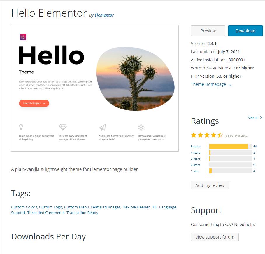 optimiser la mise en page de votre site Web avec Elementor