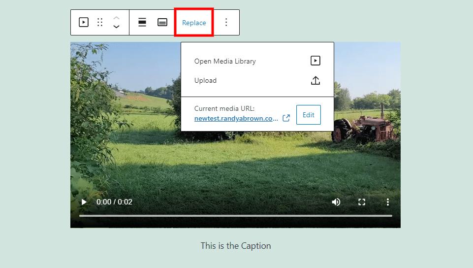 Remplacer le bloc vidéo