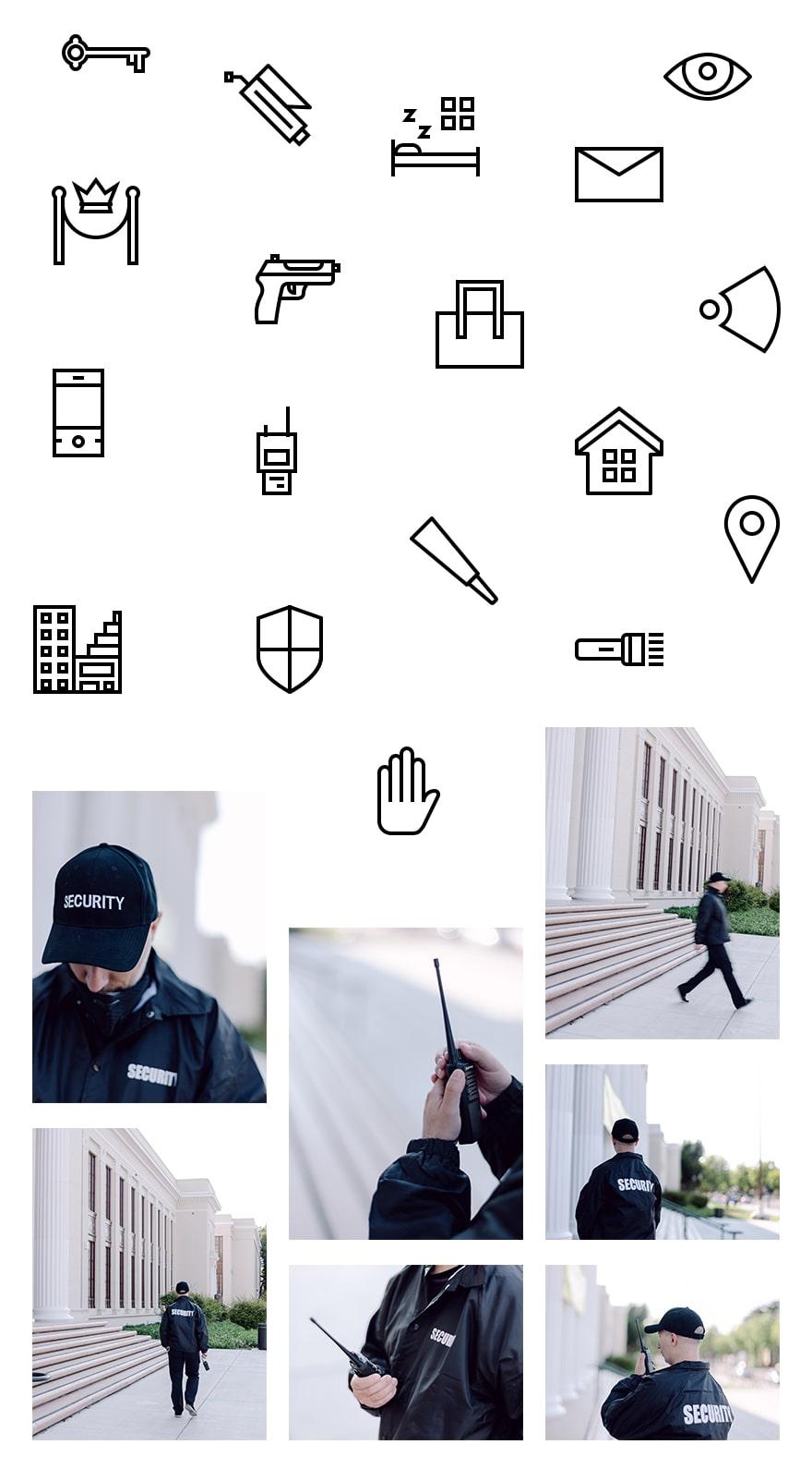pack de mise en page des services de sécurité