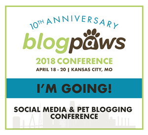 I'm Going to BlogPaws 2018! Join me!