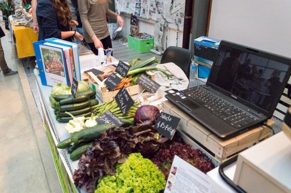 Vente de produits bio et frais