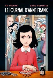 Le Journal d'Anne Frank adapté en bande dessinée