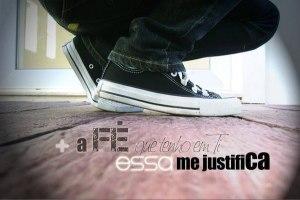 a fc3a9 me justifica - A fé me justifica