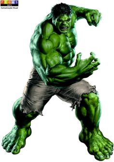 """adesivo hulk - Art's Fegas - Seu novo """"point"""" para Comunicação Visual"""