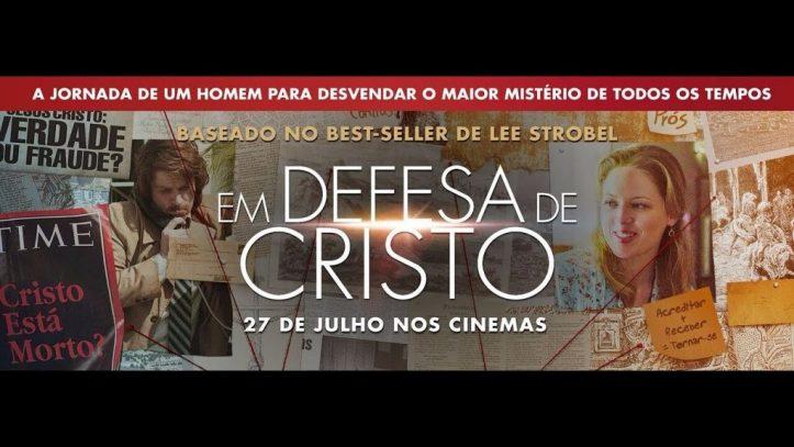 em defesa de cristo poster 1024x576 - Em Defesa de Cristo   Livro do filme é relançado pela Editora Vida