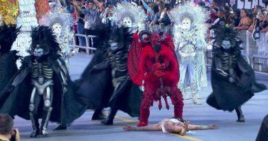 Desfile Satanas e Jesus Carnaval 2019