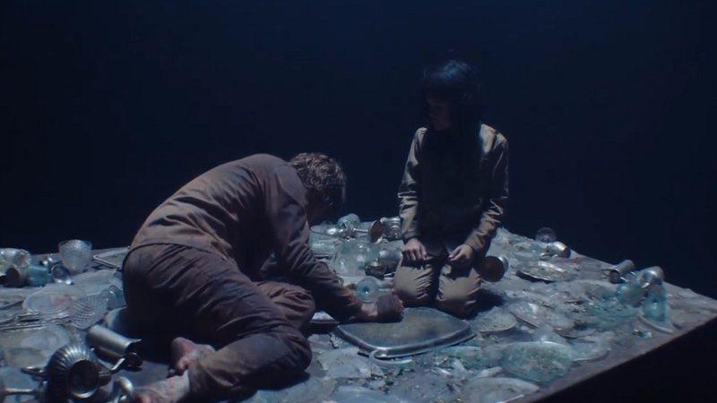 cena do filme o poço