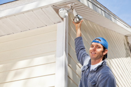 Replace Outdoor lights