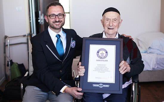 全球最長壽男性克里斯托