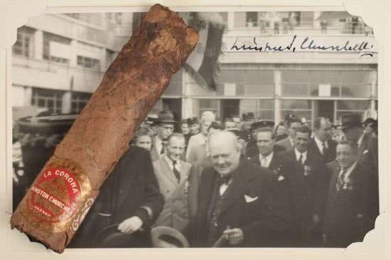 邱吉爾 1947 年抽剩的半截雪茄