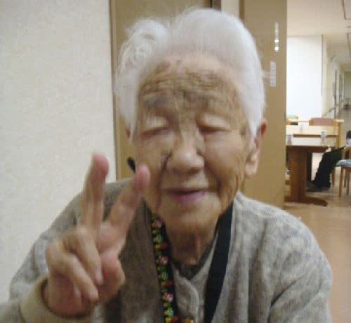 田中力子成為日本新的最高齡人瑞