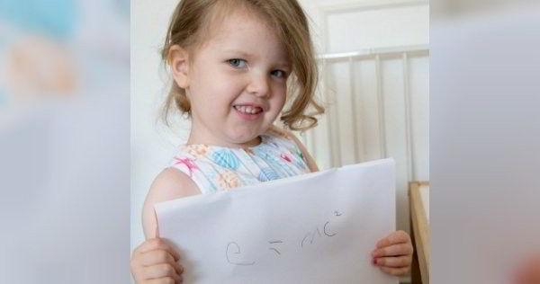 智商高達 171 的英 3 歲女童
