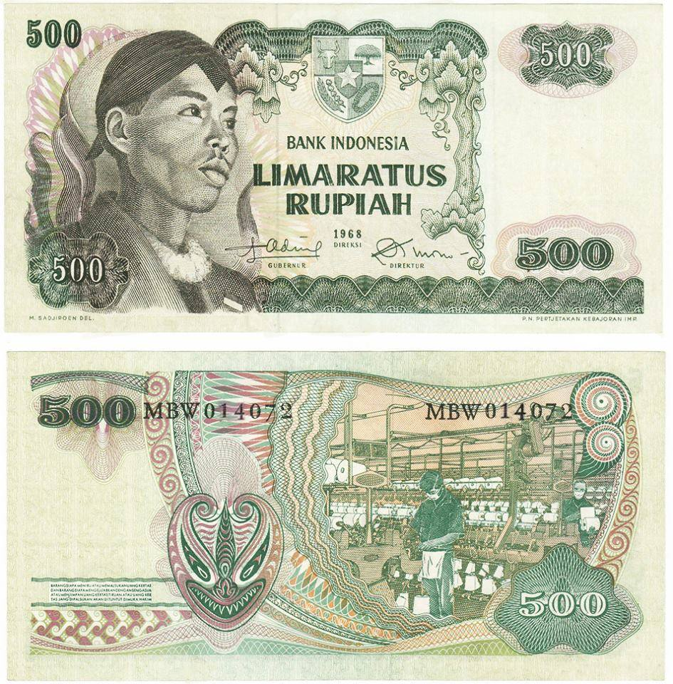 Gambar Pahlawan Pada Uang Rp1.000
