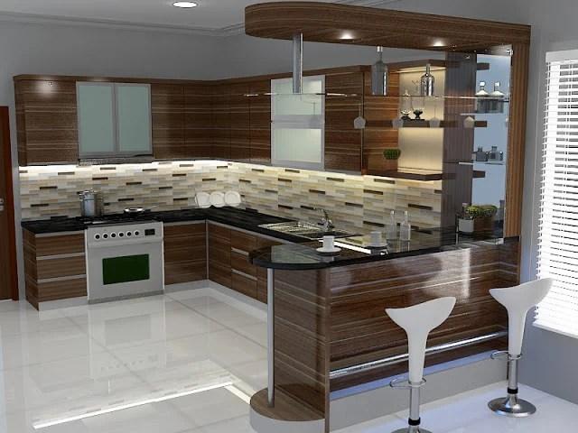5 Inspirasi Desain Dapur Pantry Rumah Idaman Dilengkapi Cara Pasang